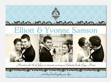 Baroque Wedding Announcements -  Marriage Announcements