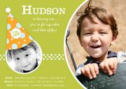 Party Hat Kids Birthday Invitations