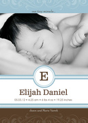 Baby Boy Announcements - Tradition - Birth Announcements
