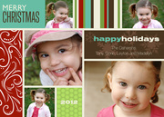 Holiday Fun Christmas Photo Cards - photo Christmas cards