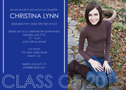 Photo Graduation Invitations - Achievement