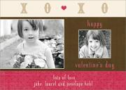 Valentine Photo Cards - Paper Hearts