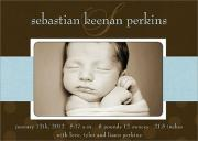 Photo Birth Announcements - Sebastian-
