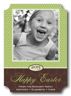 Easter Photo Cards - Lots of Dots