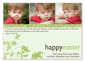 Resurrection Verse -  Easter Cards