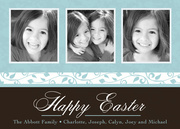 Robins Egg Blue - Easter Photo Cards