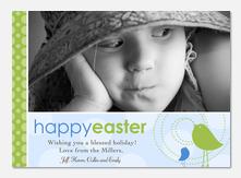 Easter Cards - Singing Birds
