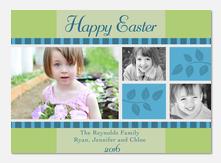 Spring Leaves -  Easter Cards