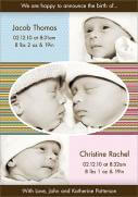 Dashy - Twin Birth Announcements