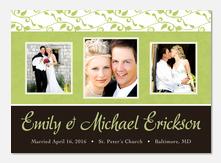 Wedding Announcements - Spring Wedding