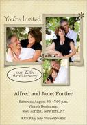 Wedding Anniversary Invitations - Forever