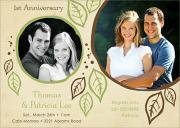 Photo Anniversary Invitations - Forever Yours
