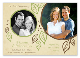Anniversary Invitations - Forever Yours