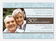 50th Wedding Anniversary Invitations - Happily Together