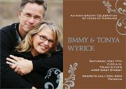 Love - Wedding Anniversary Invitations