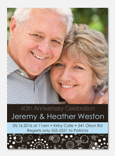 50th Wedding Anniversary Invitations - My Love