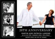 Romance Anniversary Invitations - Wedding Anniversary Invitations