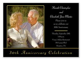 Still In Love -  50th Wedding Anniversary Invitations