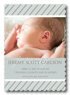 Baby Boy Announcements - Breeze