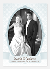 Antique Wedding Blue-
