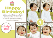 - Frosting Kids Birthday Invitations