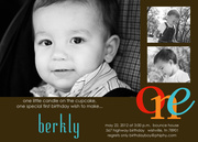 Berkly Photo Birthday Invitations