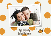 halloween photo cards - Pumpkinpie