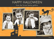Photo Halloween Cards - Sunset -  halloween cards