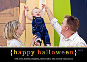 halloween photo cards - Happy Halloween