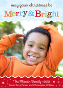 Merry & Bright -  Christmas cards
