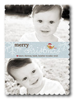 Baby Christmas Cards - Merry Tweetmas