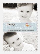 Baby Holiday Cards - Merry Tweetmas
