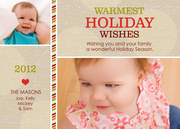 Baby Holiday Cards - Cocoa