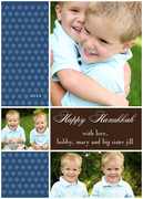 Hanukkah photo cards - Celebration