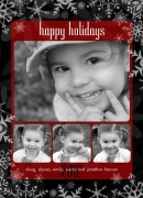 holiday photo cards - Glistening Snow