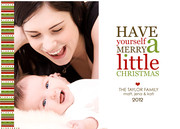 Merry Little - Baby Christmas Cards