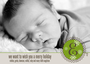 Baby Holiday Cards - Meadow