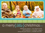 Merry Little Christmas 2 - Baby Christmas Cards