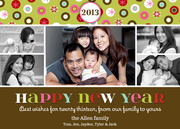 New Year Cheer -  happy new years cards