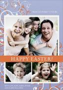 Easter Cards - Easter Swirls