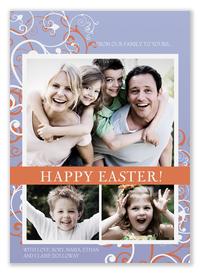 Easter Swirls -  Easter Cards