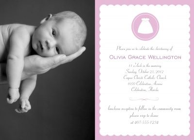 Baptisms & Christening Invitations, Simply Joyful Design