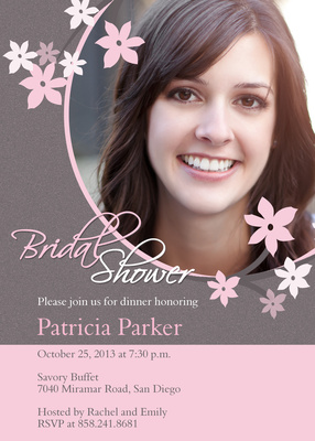 Bridal Shower Invitations, Flower Her Shower Design