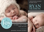 Holiday Birth Announcements - Our Joy