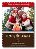 Grandparents Holiday Cards - Cherry Sentiments