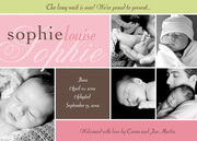 Adoption Birth Announcements - Pastel Perfection