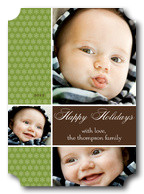 Happy Bubbles -  Baby Holiday Cards