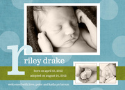 Adoption Birth Announcements - Denim Darlin'