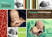 Merry Holiday Mix-Grandparents Holiday Cards