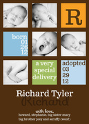 Baby's Best Blocks -  Adoption Birth Announcements